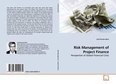 Portada del libro de Risk Management of Project Finance