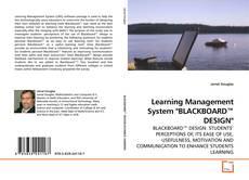 "Portada del libro de Learning Management System ""BLACKBOARD™ DESIGN"""