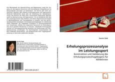 Bookcover of Erholungsprozessanalyse im Leistungssport