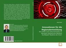 Innovationen für die Regionalentwicklung的封面