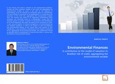 Bookcover of Environmental Finances