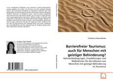 Bookcover of Barrierefreier Tourismus: auch für Menschen mit geistiger Behinderung?