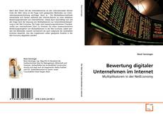 Buchcover von Bewertung digitaler Unternehmen im Internet