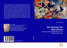 Buchcover von Das Konzept der Mikrofinanz