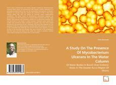A Study On The Presence Of Mycobacterium Ulcerans In The Water Column kitap kapağı