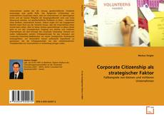 Couverture de Corporate Citizenship als strategischer Faktor