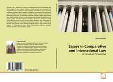 Copertina di Essays in Comparative and International Law
