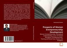 Bookcover of Prospects of Women Entrepreneurship Development