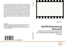 Buchcover von Spielfilmfinanzierung Österreich