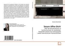 Buchcover von Sesam öffne Dich!