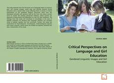 Обложка Critical Perspectives on Language and Girl Education