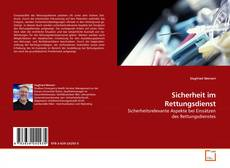 Bookcover of Sicherheit im Rettungsdienst