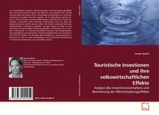 Buchcover von Touristische Investionen und ihre volkswirtschaftlichen Effekte