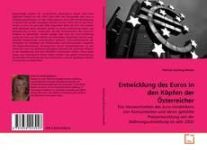 Buchcover von Entwicklung des Euros in den Köpfen der Österreicher