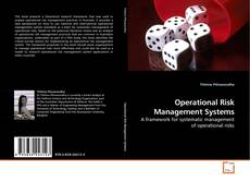 Bookcover of Operational Risk Management Systems