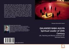 Bookcover of QALANDER BABA AULIYA Spiritual Leader of 20th Century