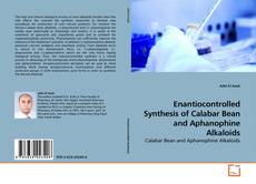 Copertina di Enantiocontrolled Synthesis of Calabar Bean and Aphanophine Alkaloids