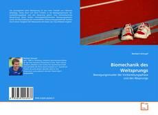 Bookcover of Biomechanik des Weitsprungs