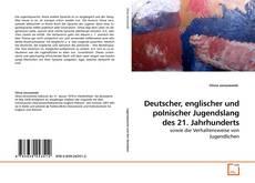 Buchcover von Deutscher, englischer und polnischer Jugendslang des 21. Jahrhunderts