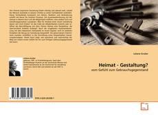 Bookcover of Heimat - Gestaltung?