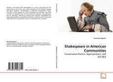Capa do livro de Shakespeare in American Communities