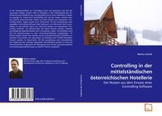 Bookcover of Controlling in der mittelständischen österreichischen Hotellerie