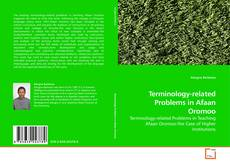 Capa do livro de Terminology-related Problems in Afaan Oromoo