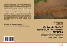 Bookcover of RAINFALL-RECHARGE ESTIMATION BY DIFFERENT METHODS