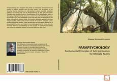 PARAPSYCHOLOGY kitap kapağı