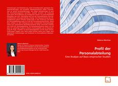 Bookcover of Profil der Personalabteilung