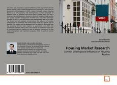 Bookcover of Housing Market Research