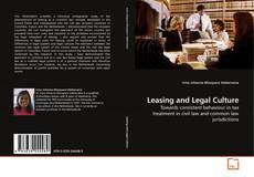 Borítókép a  Leasing and Legal Culture - hoz
