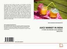 Portada del libro de JUICE MARKET IN INDIA