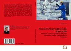 Copertina di Russian Energy Aggression 2000-2008