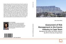 Assessment of Risk Management in the Events Industry in Cape Town kitap kapağı