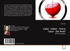"""Liebe - Leben - Tod in """"Léon - Der Profi"""" kitap kapağı"""