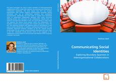 Bookcover of Communicating Social Identities