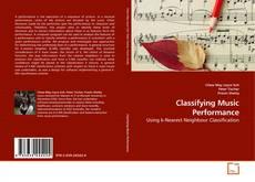 Buchcover von Classifying Music Performance