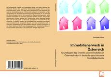 Bookcover of Immobilienerwerb in Österreich