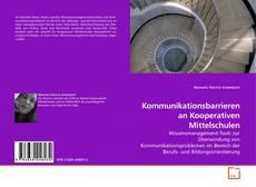Portada del libro de Kommunikationsbarrieren an Kooperativen Mittelschulen