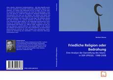 Capa do livro de Friedliche Religion oder Bedrohung