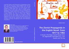Capa do livro de The Zionist Propaganda in the English Novel: from 1817 to 1982