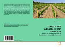 Обложка SURFACE AND SUBSURFACE DRIP IRRIGATION