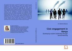 Portada del libro de Civic engagement in Kenya
