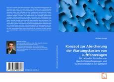 Buchcover von Konzept zur Absicherung der Wartungskosten von Luftfahrzeugen