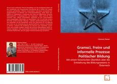 Обложка Gramsci, Freire und informelle Prozesse Politischer Bildung