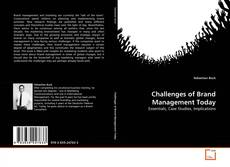 Bookcover of Challenges of Brand Management Today