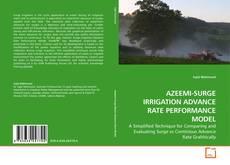 Bookcover of AZEEMI-SURGE IRRIGATION ADVANCE RATE PERFORMANCE MODEL