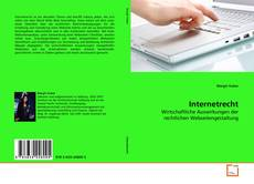 Bookcover of Internetrecht