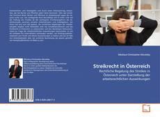 Buchcover von Streikrecht in Österreich